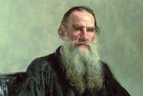 Lukisan Leo Tolstoy