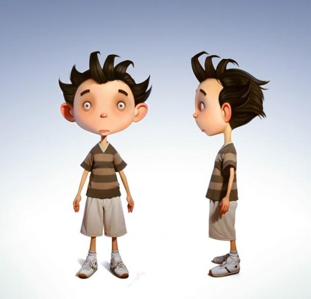 Usahakan bikin karakter yang unik! Gambar: webneel.com