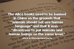 Alice in Wonderland dilarang di China!