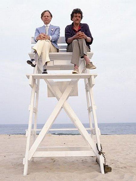 Tom Wolfe dan Kurt Vonnegut sedang menjadi penjaga pantai.