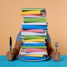 Pelahap Buku (sumber: www.diet-blog.com)