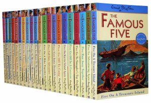 Serial The Famous Five (Lima Sekawan). Sumber: ebay.com