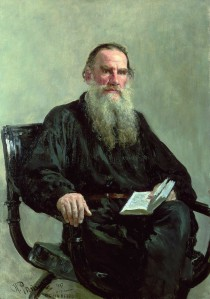 Portrait of Lev Nikolayevich Tolstoy karya Ila Repin | wikipedia.org